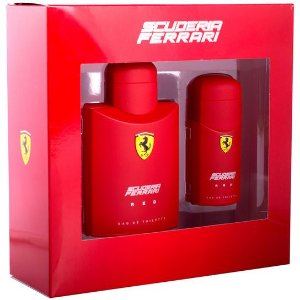 Kit Ferrari Red Eau de Toilette Masculino- Perfume 125 ML + Perfume 30 ML