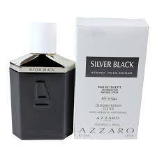 Tester Azzaro Silver Black -Perfume Masculino Eau de Toilette100 ML