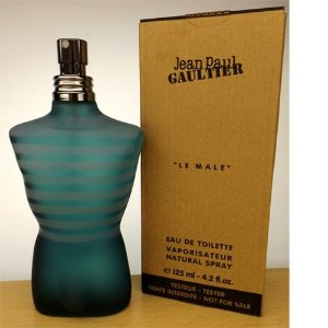 Téster Le Male Eau de Toilette Masculino Jean Paul Galtier 125ML
