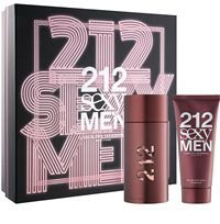 Kit 212 Sexy Men Eau de Toilette Carolina Herrera- Perfume 100 ML + After Shave 100 ML