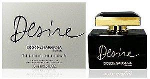 Téster The One Desire Eau de Parfum Feminino Dolce & Gabbana 75 ML