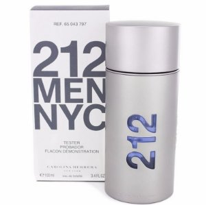 Téster 212 Men Nyc Eau de Toilette Carolina Herrera 100 ML