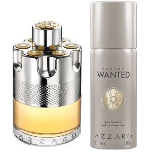 Kit Wanted Eau de Toillete Azzaro - Perfume Masculino 100 ML + Desodorante Spray 150 ML