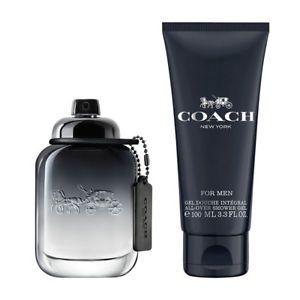 Kit Perfume Coach for Men Eau de Toilette 60ml +  Gel de Banho 100 ML