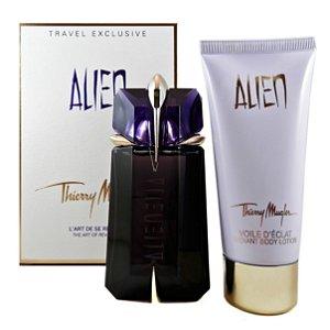 Kit Alien Eau de Parfum Thierry Mugler - Perfume Femino 60 ML+ Loção Hidratante 100 ML