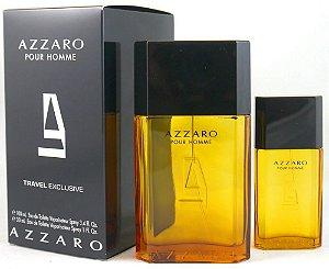 Kit Azzaro Pour Homme Eau de Toilette Azzaro - Perfume Masculino 100 ML + Miniatura 30ML