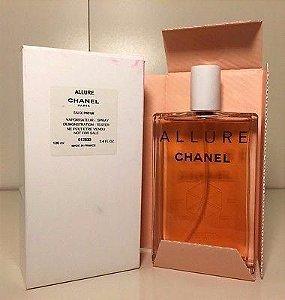 Téster  Allure Eau de Toilette Chanel - Perfume Feminino 100 ML