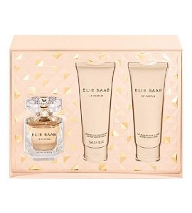 Kit Elie Saab Eau De Parfum 50ML + Body Lotion 75ML + Gel de Banho 75 ML - Perfume Feminino