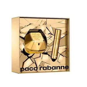 Kit Lady Million Eau de Parfum Paco Rabanne - Perfume Feminino 50 ML + Miniatura 10 ML
