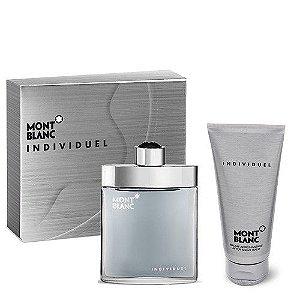 KIT Mont Blanc Individuel Perfume 75ML + Loção pós barba 100ML