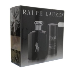 Kit Ralph Lauren Polo Black 125 ml + Desodorante 75g