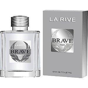 3 Unidades Brave Eau de Toilette La Rive - Perfume Masculino 100ml