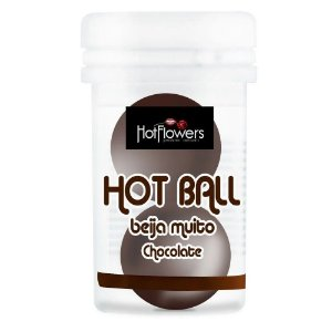 Hot Ball Beija Muito Duplo Chocolate Hot Flowers