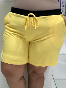 SHORT VISCOSE COLOR