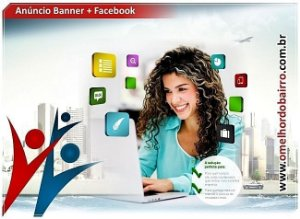 Anúncio Banner + Facebook