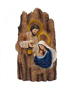 Sagrada Família 37 CM com Luz
