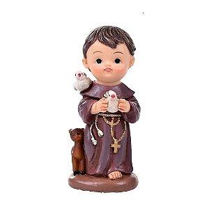 São Francisco de Assis 10 cm - Infantil