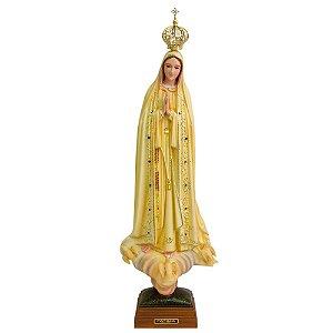 Nossa Senhora de Fátima Patinada 55 CM - Portugal