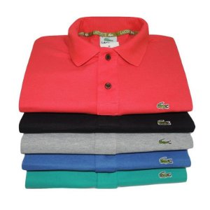 KIT 10 CAMISAS POLO LAC