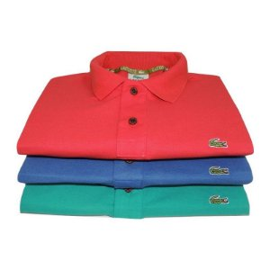 KIT COM 3 CAMISAS POLO LAC