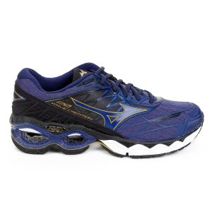 MIZUNO WAVE CREATION 20 - AZUL MARINHO