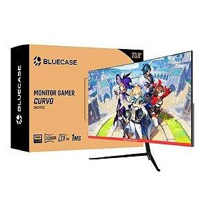 Monitor Gamer Bluecase 23,8´ Full HD, 1ms, 75Hz, Curvo R2200, HDMI/VGA, VESA - BM247GC
