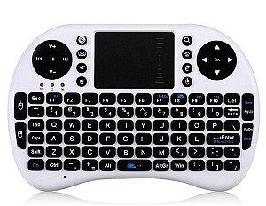 Mini Teclado e Mouse Wireless - Touch Pad