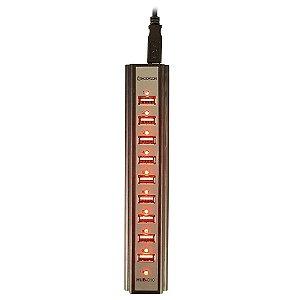 HUB-010 USB 10 PORTAS
