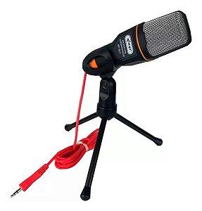 Microfone Condensador Captação Profissional C/ Tripé- CH0803