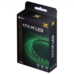 Fita De Led Vx Gaming Verde Molex 1 Metro - LDM1