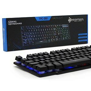 Teclado Gamer Semi - Mecânico RGB Hoopson