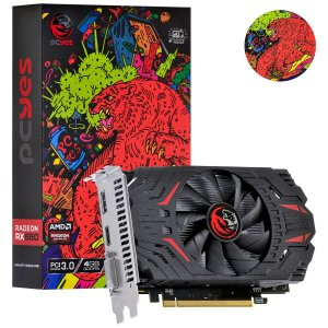 Placa de Video Amd Radeon Rx 550 4GB Gddr5 128 Bits Pcyes Sx