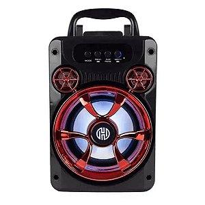 Caixa de Som Bluetooth 50W SD USB FM Aux RBM-010V Hoopson