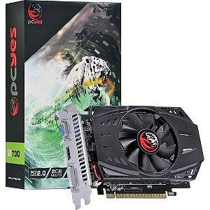 Placa de Vídeo PCYes GT 730 2GB DDR5 64 Bits - PA730GT6402D5LP