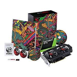 Placa De Vídeo Nvidia Geforce GTX 1650 Pcyes 4GB Super GDDR6 Graffiti
