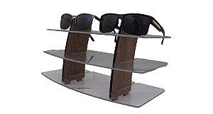 Expositor de Madeira para Óculos 6 lugares PLUS06