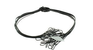 Cordão PVC Cristal Para Óculos - 12 unidades