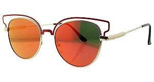 Óculos Solar Feminino Espelhado NY9025