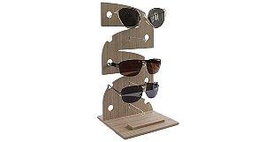 Expositor Torre para 5 Óculos em MDF VT255