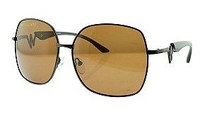 8e748b246fc27 Óculos Solar Feminino Polarizado 20628R com Estojo Déjàvu