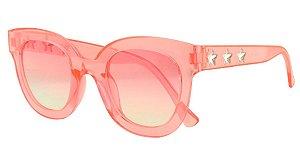 Óculos Solar Infantil T10041 Rosa Claro