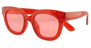 Óculos Solar Infantil T10046 Vermelho