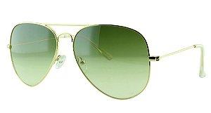 Óculos Solar Unissex Primeira Linha OC3026 Verde Degradê