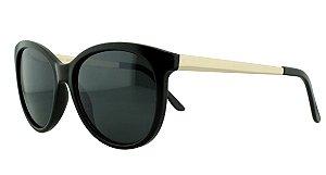 Óculos Solar Feminino Primeira Linha 681094 Preto
