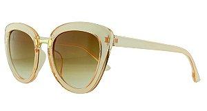 Óculos Solar Feminino AL9784 Salmão Transparente