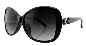 Óculos Solar Feminino Primeira Linha NY18066 Preto