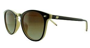 Óculos Solar Unissex Z085 Marrom e Bege