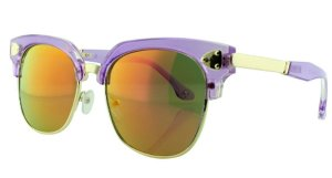 Óculos Solar Infantil 614106 Roxo Espelhado