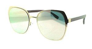 Óculos Solar Feminino 927 Rosa Espelhado