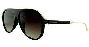 Óculos Solar Unissex Primeira Linha JX8130 Preto